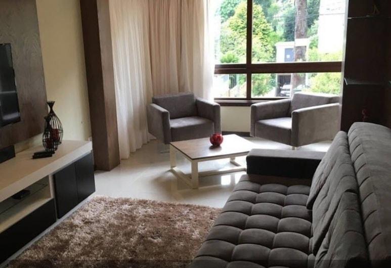 Locar-in Gramado Apartamento Lindíssimo Centro, Gramado, Apartamentai, 2 miegamieji, Svetainė