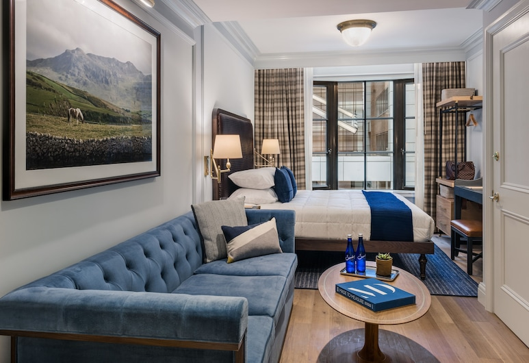 Merrion Row Hotel and Public House, New York, Studio, 1 King Bed with Sofa bed, Guest Room