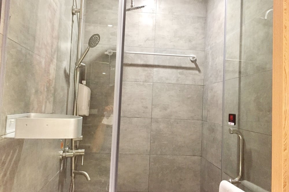 Design Double Room, No Windows - Bilik mandi
