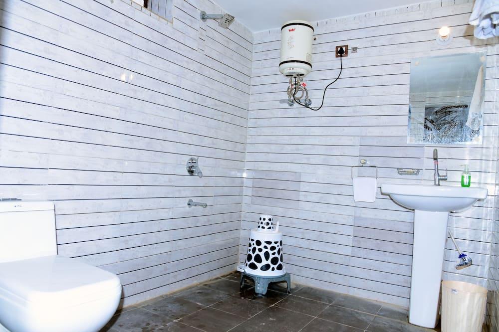 豪華帳篷, 1 張特大雙人床, 度假村景, 地面 - 浴室淋浴間