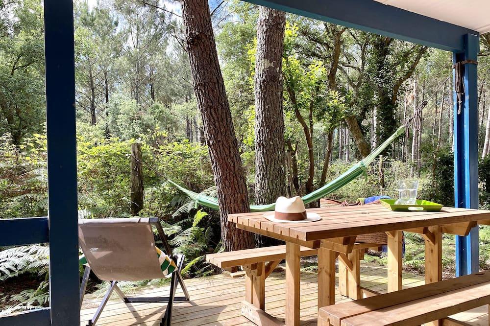 豪華小木屋, 花園景 - 露台景觀