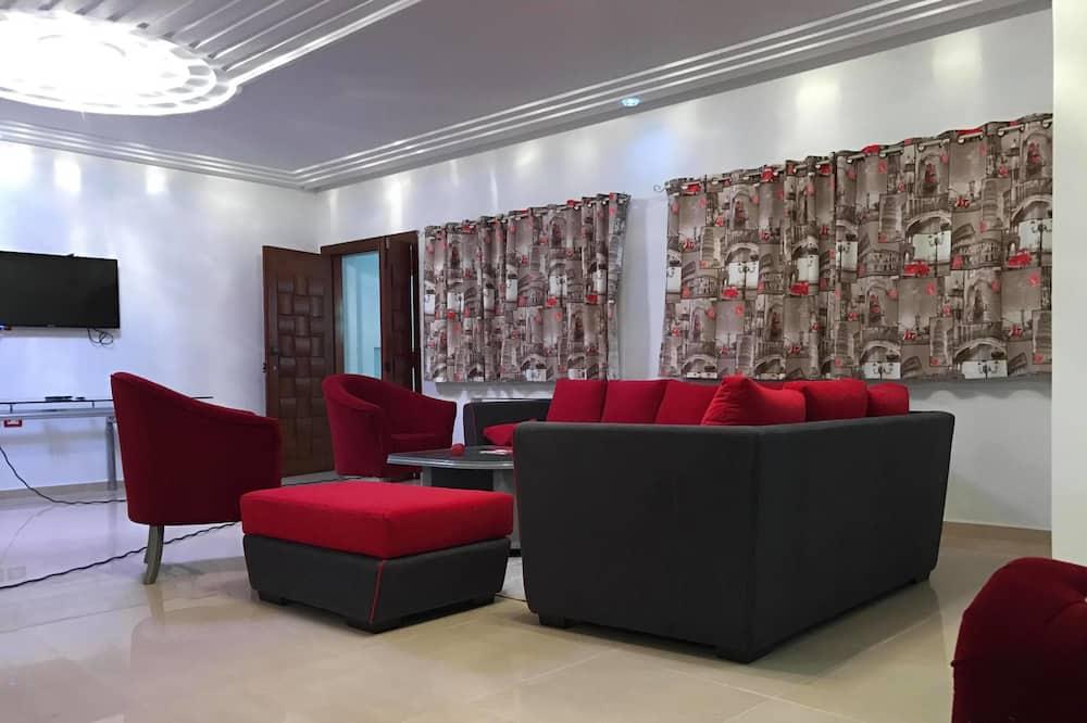 apartman, 2 hálószobával - Nappali rész