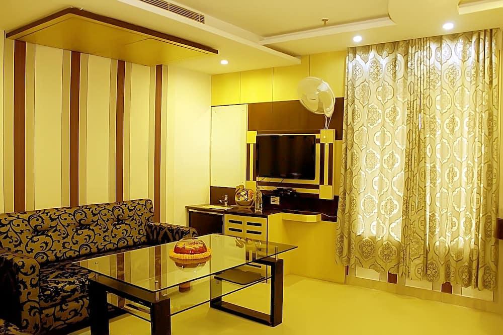 Suite Premium, 1 Tempat Tidur King - Ruang Keluarga