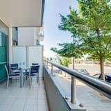 Апартаменти «Делюкс», 2 спальні, доступ до басейну, із видом на затоку - Балкон