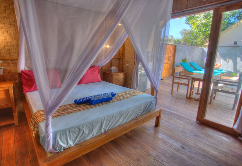 Hoomea Private Pool Villas, Gili Air, Traditional Kır Evi, 1 Yatak Odası, Oda Manzarası
