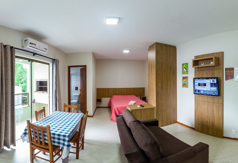 カント ドス パーサロス フラット カナシビーラス, フロリアノポリス, ファミリー アパートメント 1 ベッドルーム, 部屋