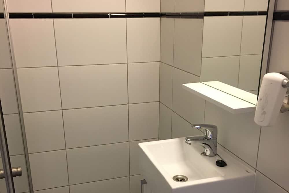 Economy-Studio, 2Einzelbetten, Seeblick - Badezimmer