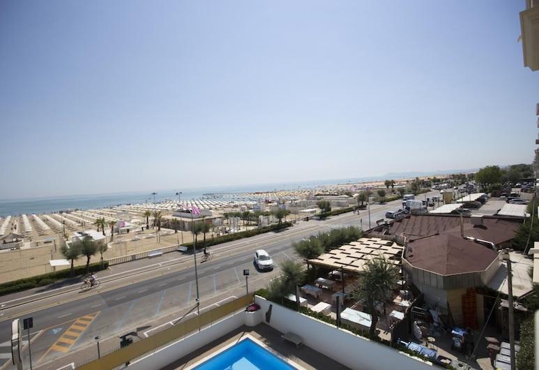 Hotel Rex, Rimini, Pláž