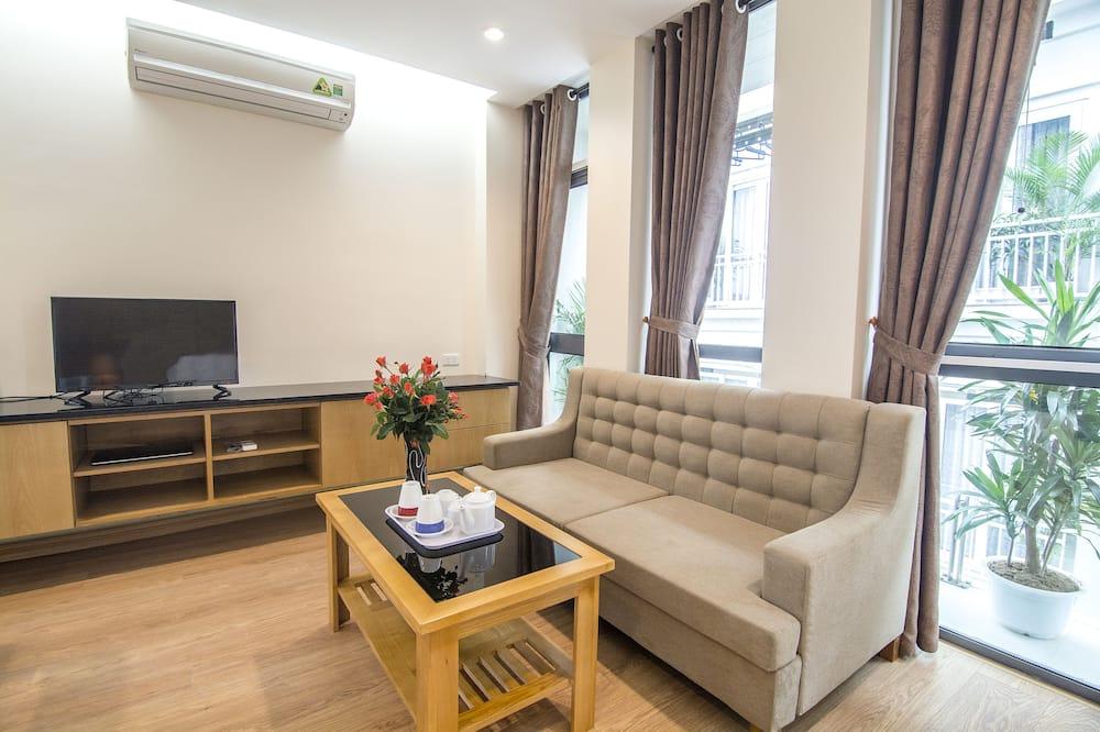Apartment, 2Schlafzimmer ( VIP ) - Wohnzimmer