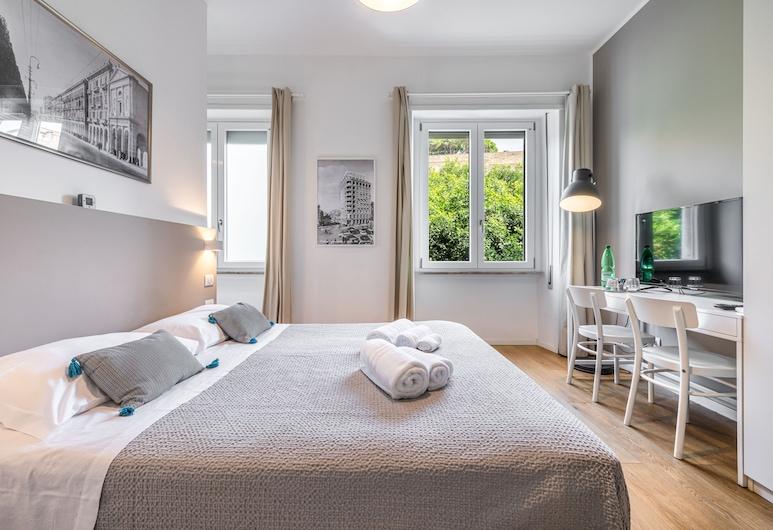 Dome B&B, Cagliari, Habitación doble Confort, baño privado, vista a la ciudad, Habitación