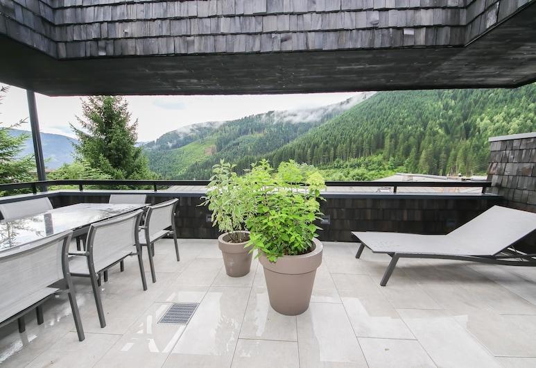 Sunny Ferienwohnungen, Zell am See, Căn hộ tiện nghi đơn giản, 2 phòng ngủ, Quang cảnh núi, Ban công