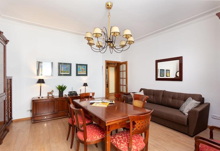 City of Rivers on Griboedova 33, San Pietroburgo, Appartamento, 2 camere da letto, al piano terra, Camera