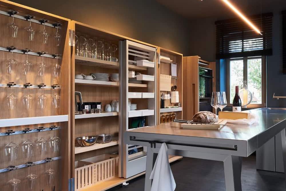 غرفة ديلوكس ثلاثية - مطبخ مشترك