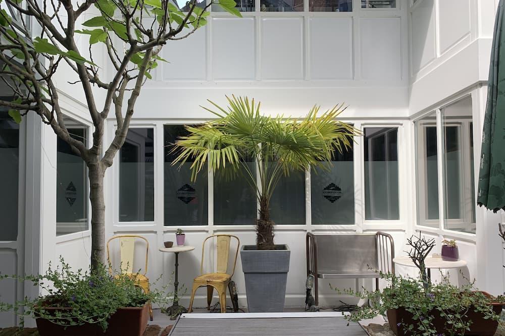 Luxury-Doppelzimmer, Whirlpool (n°2 ) - Terrasse/Patio