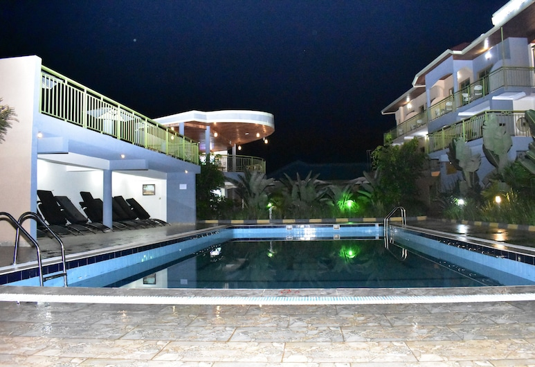 LEBANON HOTEL, Kigali, Honeymoon Suite, 1 Queen Bed, Patio, Pool View, Guest Room View