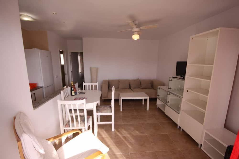 Comfort Apartment, 1 Bedroom, Terrace - Living Room