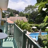 Habitación triple, Varias camas, para no fumadores - Vista al balcón
