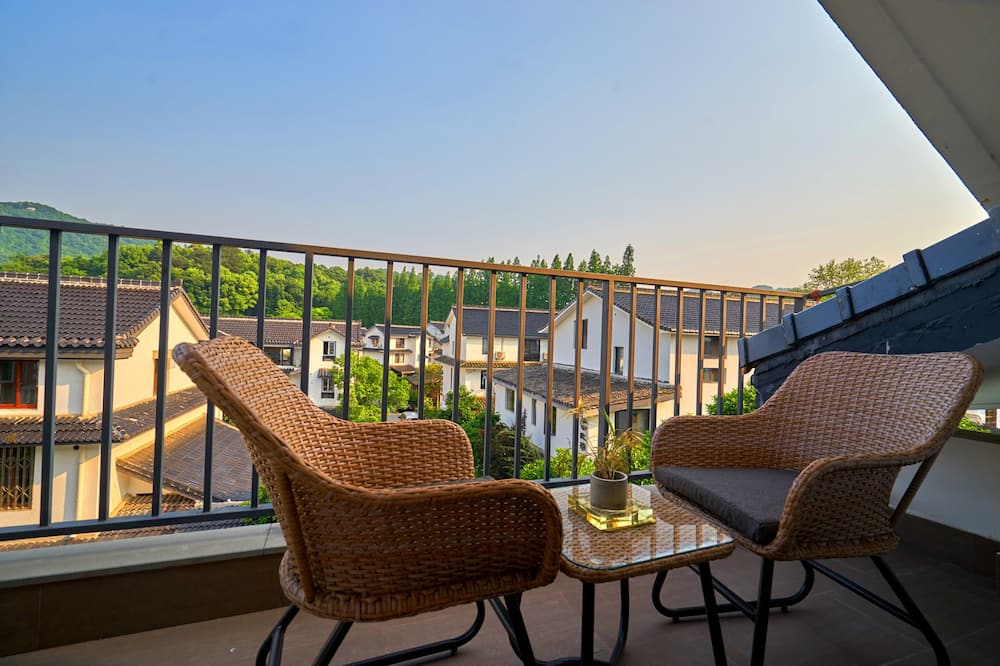 Deluxe-Zimmer, Bergblick - Balkon