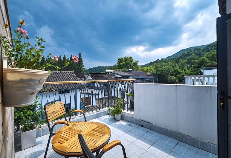 Yueshang Yunshe Boutique Hotel, Hangzhou, Superior Room, Mountain View, Terrace/Patio