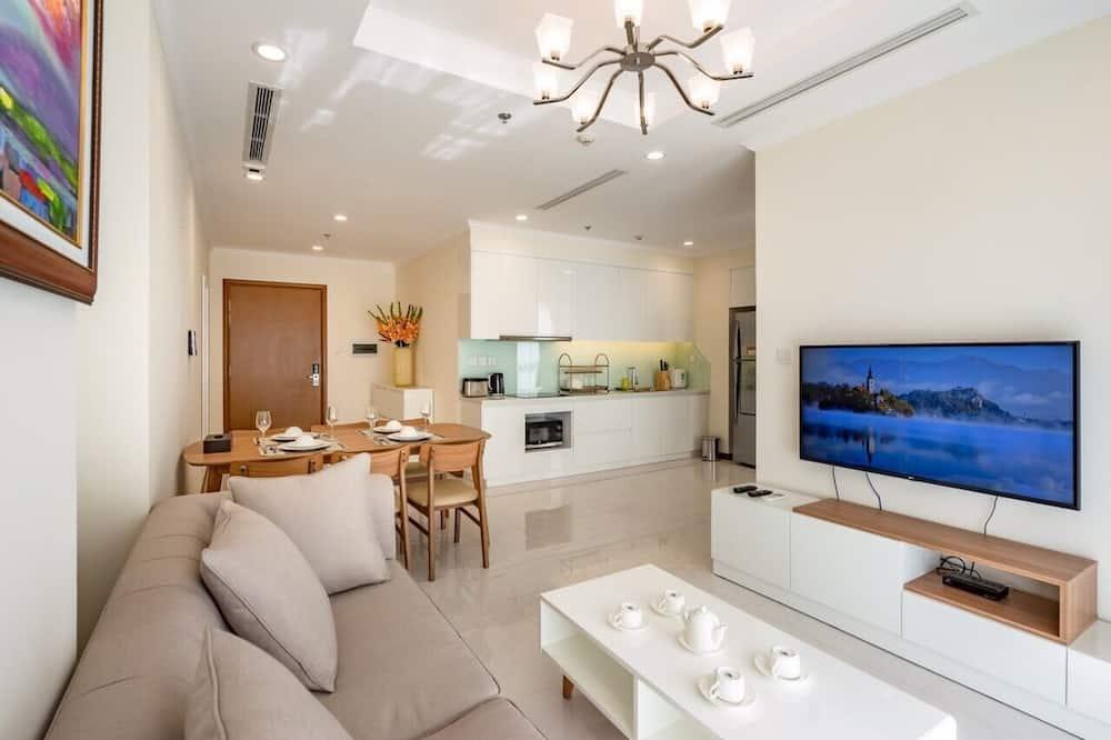 Apartament luksusowy, 2 sypialnie, dla niepalących - Powierzchnia mieszkalna
