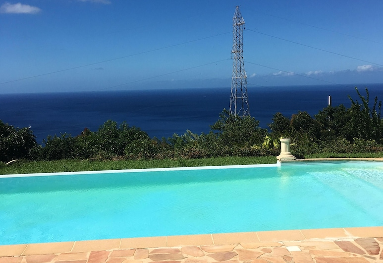 Apartment With 3 Bedrooms in Le Carbet, With Wonderful sea View, Shared Pool, Enclosed Garden - 2 km From the Beach, Le Carbet, Bassein