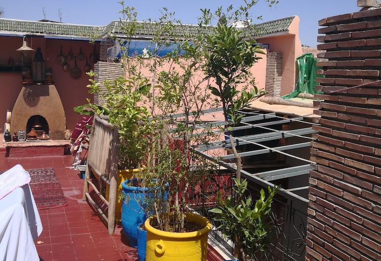 Riad Mamma House, Μαρακές, Αίθριο/βεράντα