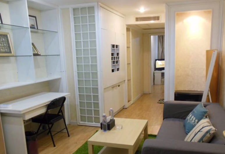 Jingting Service Apartment, Xangai, Suite Executiva, Área de Estar