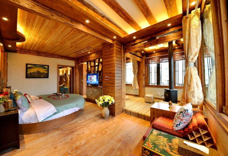 Shangri-la Guanshanyue Inn, Deqin, Suite Deluxe, Quarto