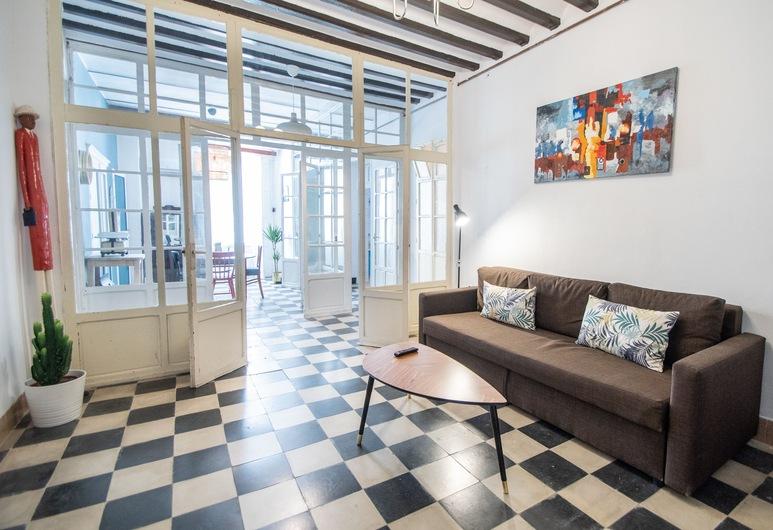 Apartamento La Moderna Cádiz, Cadiz, Apartament typu Superior, 1 sypialnia, Salon