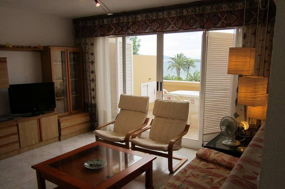 Comfort Apart Daire, 3 Yatak Odası, Teras, Denize Bakan - Oturma Odası
