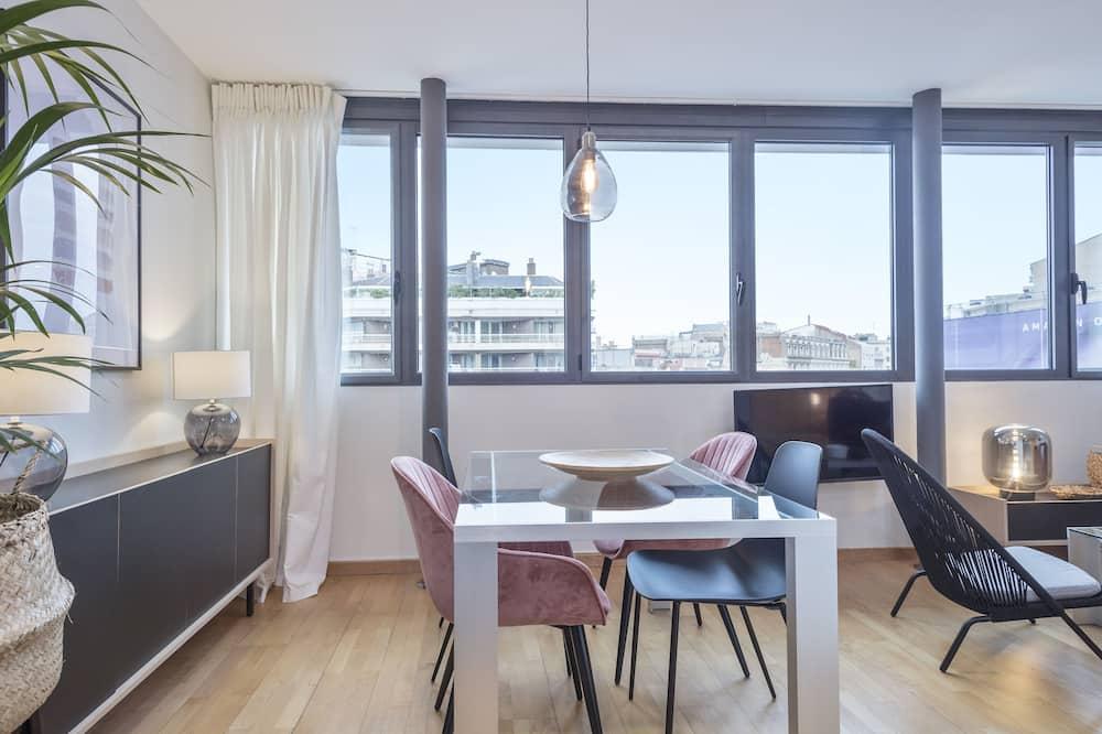 公寓 - 客房內用餐