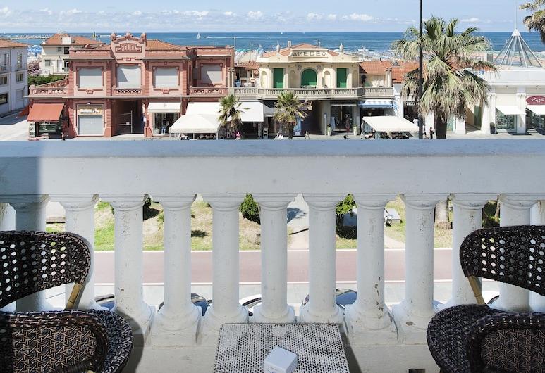 Hotel London, Viareggio, Chambre Triple, Balcon