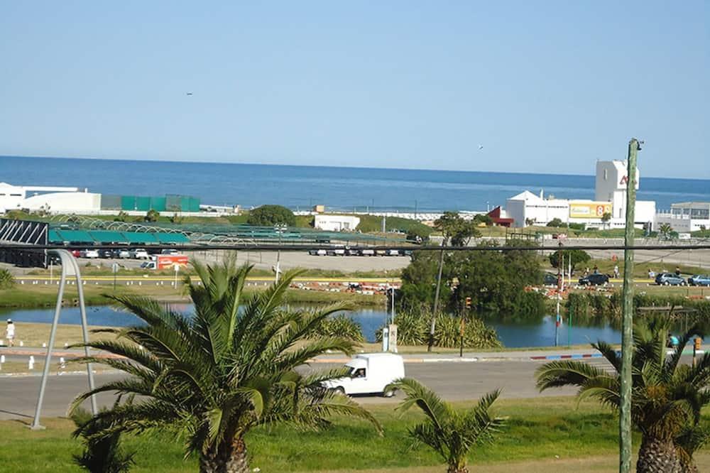 Uitzicht vanuit de accommodatie