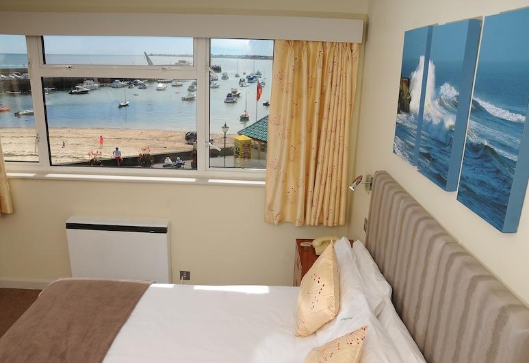 The Dolphin Hotel, St. Martin, Dobbelt- eller tomannsrom – superior, 1 soverom, utsikt mot havn, Utsikt fra gjesterommet