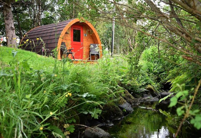 Dunvegan Camping Pods, Isle of Skye, Kabin Standar, ensuite, Kamar
