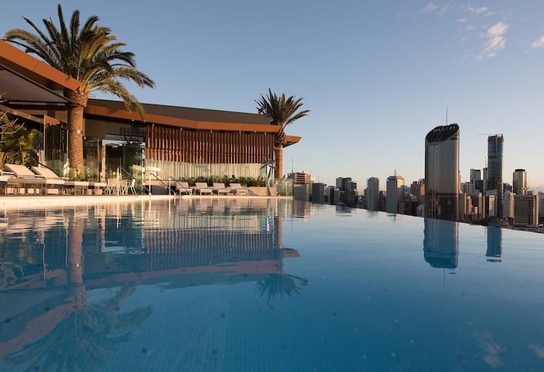 Emporium Hotel South Bank, Ngoại ô Nam Brisbane, Hồ bơi tại sân thượng
