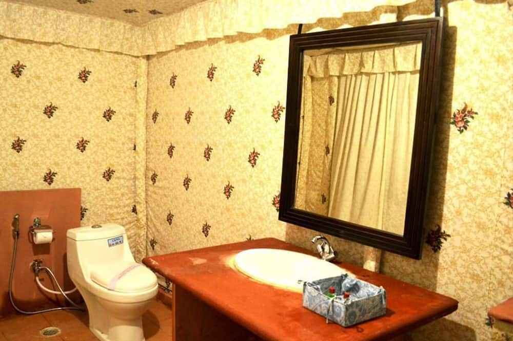Eenvoudige tent, 1 slaapkamer - Badkamer