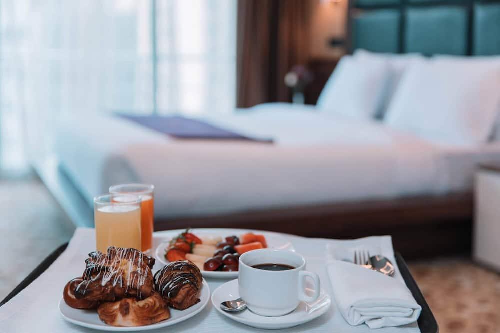 غرفة - سرير فردي منفصل - خدمة الغرف - الطعام