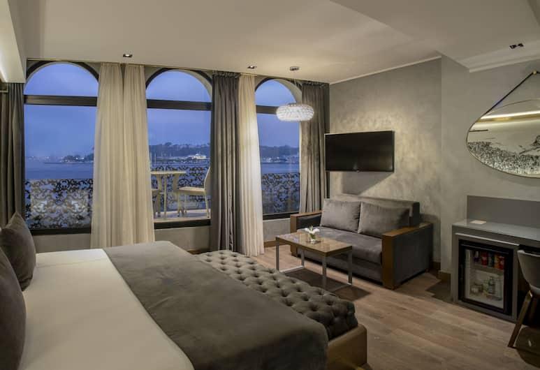 The Wings Hotel Istanbul, Istanbul, Suite – executive, utsikt mot sjø, Gjesterom