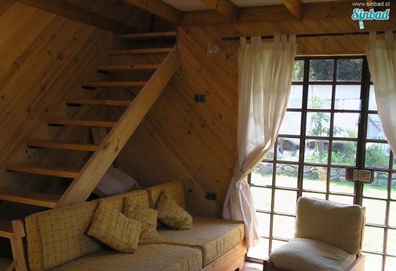 Hermosa Cabana en Olmue Para 5, Olmue, Living Area