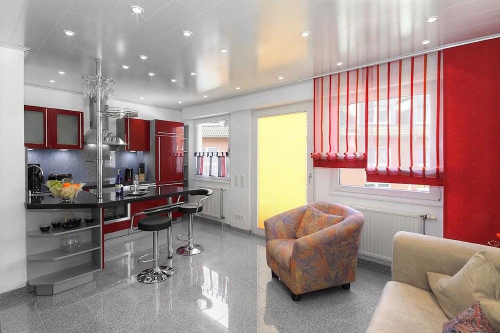 Dzīvokļnumurs, viena guļamistaba (DW 16) - Dzīvojamā zona