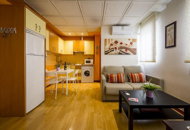 Apartamento Jerte, Madrid, Obývací prostor