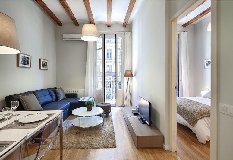 Habitat Apartments Boulevard, Barcelona, Apartemen, 1 kamar tidur (1), Ruang Keluarga