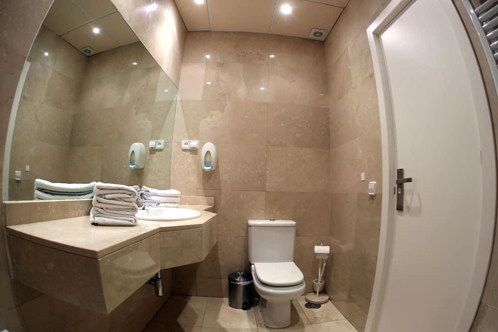 Jednolůžkový pokoj - Koupelna