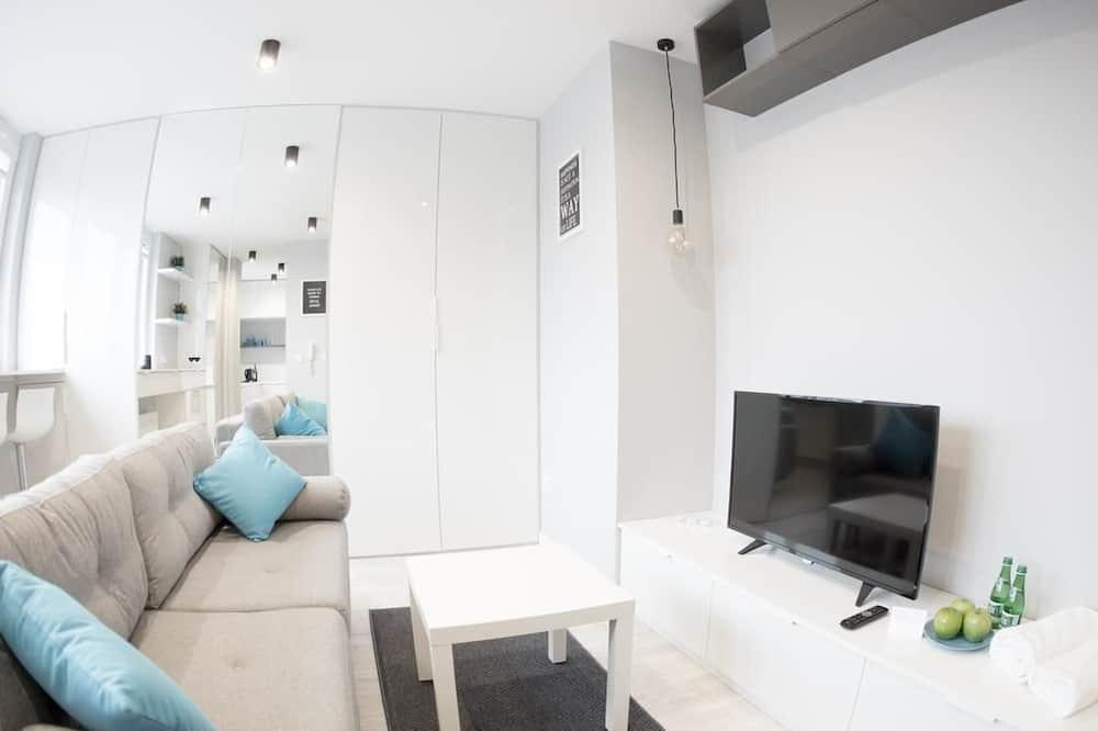 스튜디오 스위트, 침실 1개 - 거실 공간