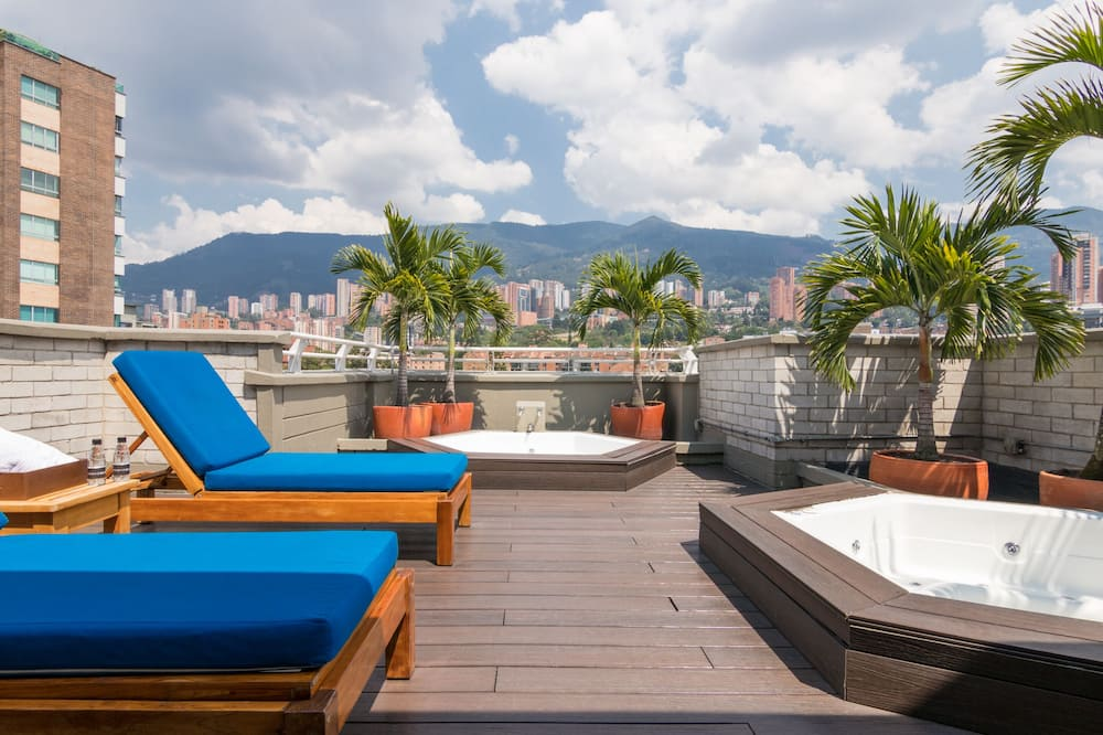 Luxury Apartment, 3 Bedrooms, Terrace - Ruang Tamu