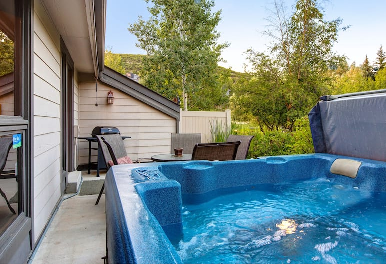 Abode at Fawngrove, Park City, Outdoor Spa Tub