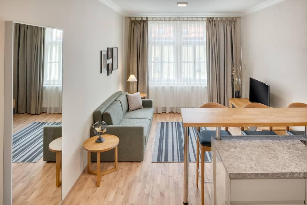 Departamento Deluxe, 1 habitación - Sala de estar