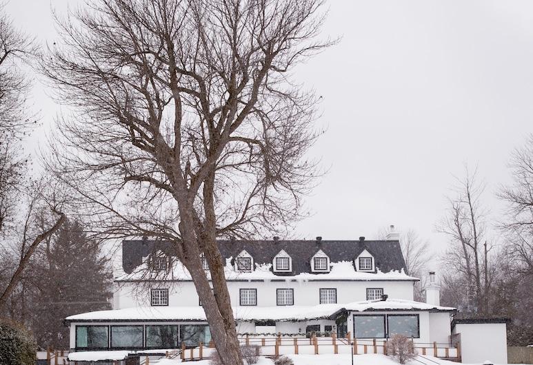 Auberge Willow Inn, Hudson, Jardín