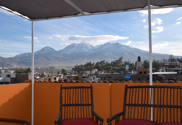 Peru Swiss Hostel, Arequipa, Terrass